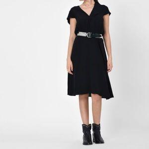 Isabel Marant Etoile black west dress 38